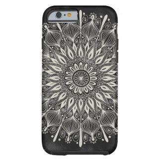 """Do """"caso do iPhone 6 da mandala vintage"""" - Capa Tough Para iPhone 6"""