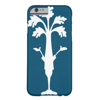 "Do ""caso do iPhone 6 do logotipo de Charles aipo"" Capa Barely There Para iPhone 6"