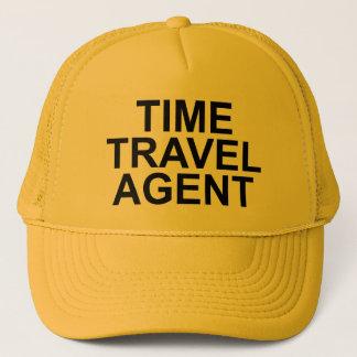 """Do """"chapéu do agente de viagens tempo"""" boné"""