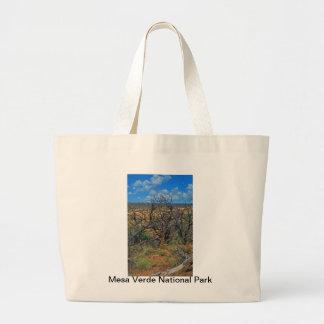"""Do """"coleção do parque nacional Mesa Verde"""" Bolsa De Lona"""