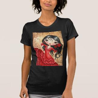 """Do """"dançarino Flamenco """" Camisetas"""