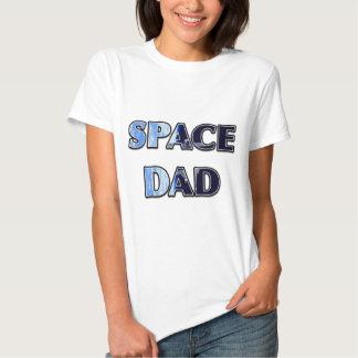 """Do """"design satélite ESPAÇO DAD T-shirts"""