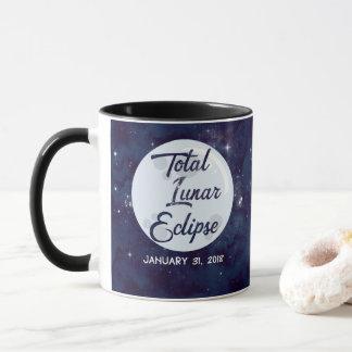 Do eclipse lunar caneca 2018 de café total