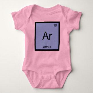 Do elemento conhecido da química de Arthur mesa Body Para Bebê