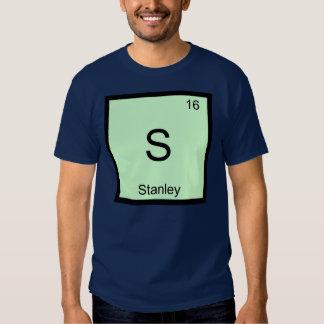 Do elemento conhecido da química de Stanley mesa Camisetas