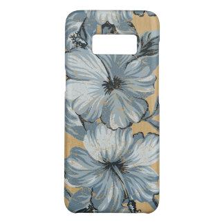 Do falso havaiano do hibiscus de Lanai azul de Capa Case-Mate Samsung Galaxy S8