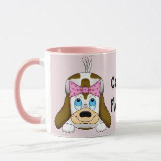 """Caneca Do filhote de cachorro do """"café caneca de café"""