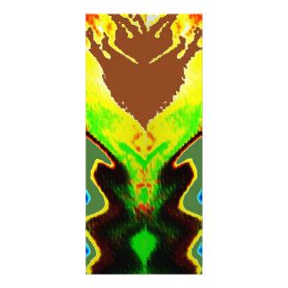 Do fogo vulcão espiritual dentro - 10.16 x 22.86cm panfleto