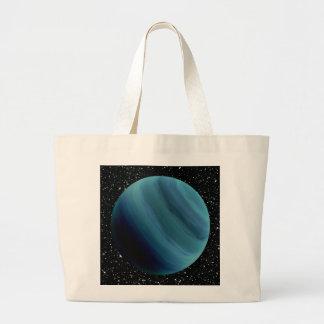 ~~ do fundo da estrela de URANUS do PLANETA Sacola Tote Jumbo