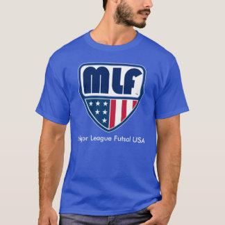 Do futebol futsal dos EUA da liga principal futsal T-shirt
