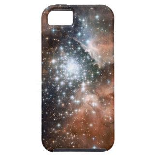 Do geek brilhante do hipster da galáxia das capa tough para iPhone 5