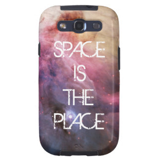 Do geek brilhante do hipster da galáxia das capas personalizadas samsung galaxy s3