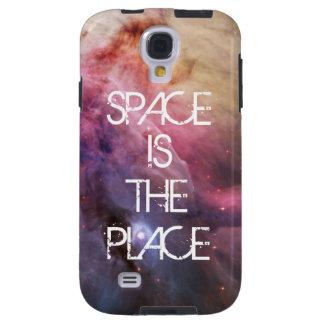 Do geek brilhante do hipster da galáxia das estrel capa para galaxy s4