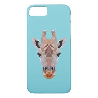 Do girafa capas de iphone azuis polis baixo