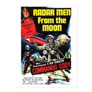 """Do """"homens radar cartão da lua"""""""