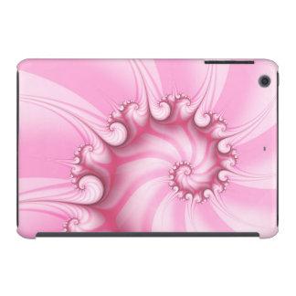 Do iPad espiral cor-de-rosa do Fractal dos doces Capa Para iPad Mini Retina