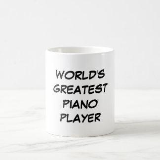 """Do """"jogador de piano mundo caneca do grande"""""""