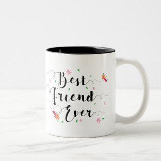Do melhor amigo caneca nunca