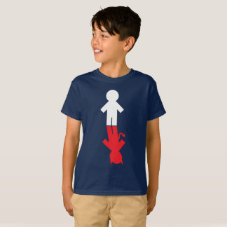 "Do ""menino mau bom menino "" camiseta"