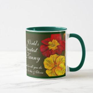 Do mundo floral das belas artes do Primula caneca