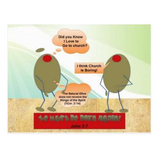 Do nascer azeitonas outra vez cartão postal