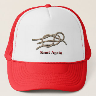 Do nó chapéu do camionista outra vez - boné