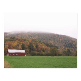 Do norte do estado NY no cartão da queda