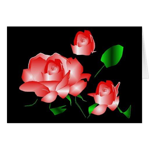 """Do """"obrigado que do falecimento do rosa rosa você"""" cartoes"""