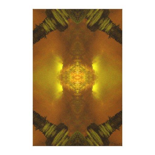 """Do """"ouro do terramoto império"""" (dimensões do retra impressão de canvas esticadas"""