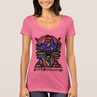 """Do """"pescoço da colher das mulheres da evolução camiseta"""