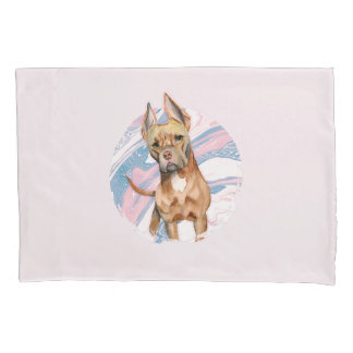 """Do """"pintura da aguarela do cão do pitbull das"""