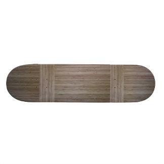 """do """"PLATAFORMA de bambu do SKATE falso"""""""