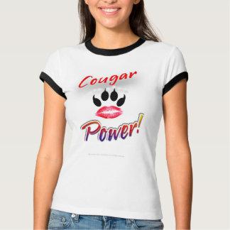 """Do """"poder puma!"""" Camisa de Pawprint do batom"""