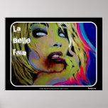 """Do """"poster do zombi de Faim do Belle La"""""""