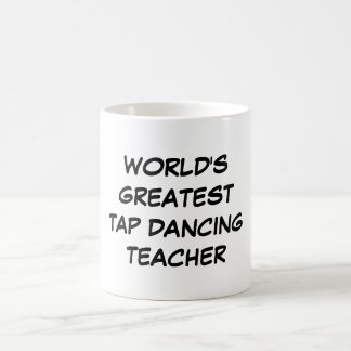 "Do ""professor da dança de torneira mundo caneca do"