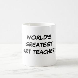 """Do """"professor de arte mundo caneca do grande"""""""