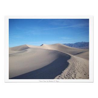 """Do """"profissional das dunas deserto"""" impressão de foto"""
