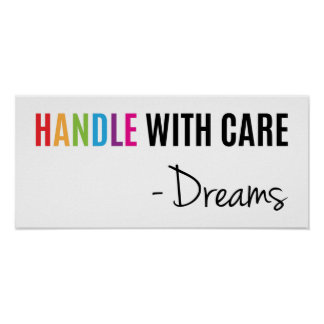 Do punho poster de inspiração super dos sonhos com pôster