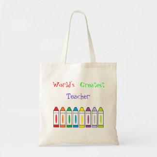 """Do """"saco do grande professor mundo"""" bolsas"""