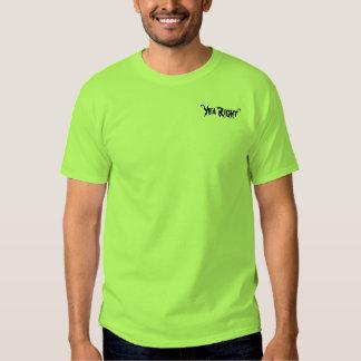 """Do """"T do direito sim"""" de Edward McGee T-shirt"""