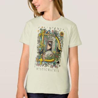 "Do ""T natural das meninas capital D"" de Camiseta"