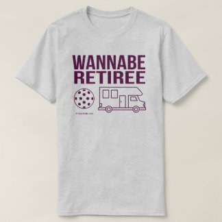 """Do """"t-shirt de Pickleball do aposentado Camiseta"""