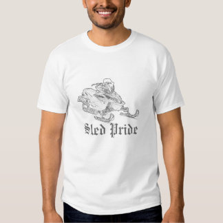 """Do """"t-shirt do branco de Yamaha do orgulho trenó"""" Tshirt"""