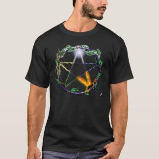 """` do t-shirt do Pentacle do """"equilíbrio"""" Camiseta"""