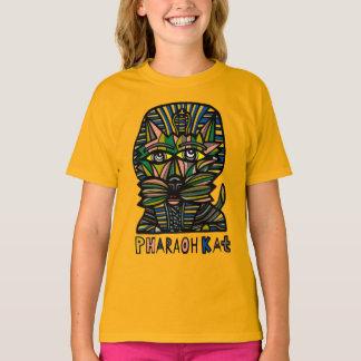 """Do """"t-shirt do TAGLESS® das meninas do Kat faraó"""" Camiseta"""
