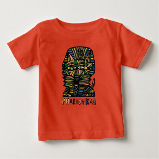 """Do """"t-shirt fino do jérsei do bebê do Kat faraó"""" Camiseta Para Bebê"""