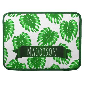 Do verde adolescente das meninas das mulheres bolsa MacBook pro