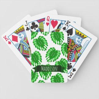 Do verde adolescente das meninas das mulheres cartas de baralhos