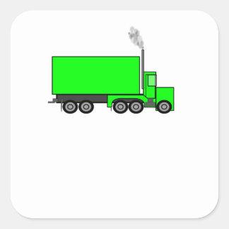 Do verde caminhão semi adesivos