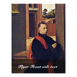 Doadores de ajoelhamento por Christus Petrus (a me Panfleto Personalizado